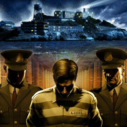 Prison Tycoon - Alcatraz - Build the world's strongest, toughest prison in Prison Tycoon - Alcatraz! - logo
