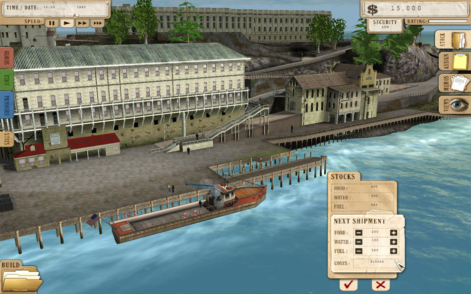 Prison Tycoon - Alcatraz screen shot