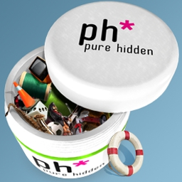 Pure Hidden - Pure Hidden mixes hidden object mechanics with unique surprises! - logo