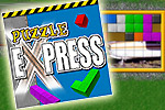 Fill the train with pictures and travel to new cities in Puzzle Express!