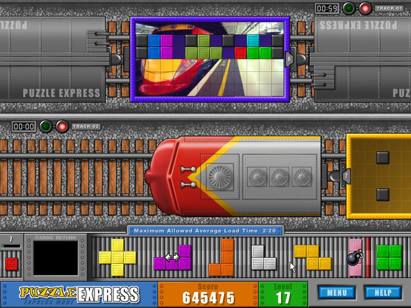 Puzzle Express screen shot