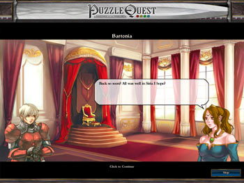 Puzzle Quest - Challenge of the Warlords screen shot