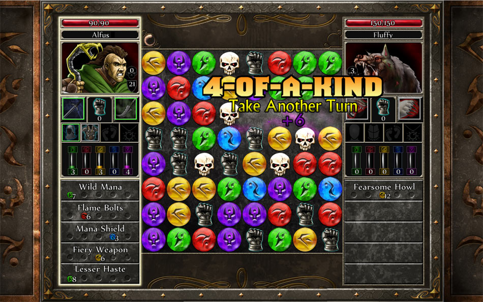 Puzzle Quest 2 screen shot