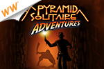 Match cards in exotic locations!  Race against the clock to win gems and ancient artifacts in Pyramid Solitaire Adventures - a Cash Game!