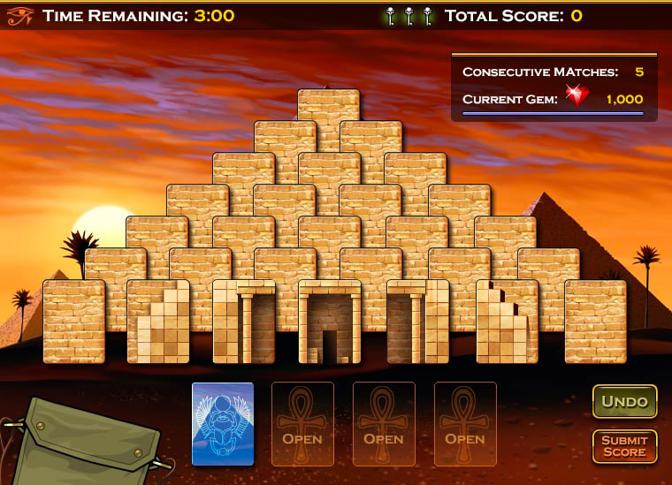 Cash Tournaments - Pyramid Solitaire Adventures screen shot