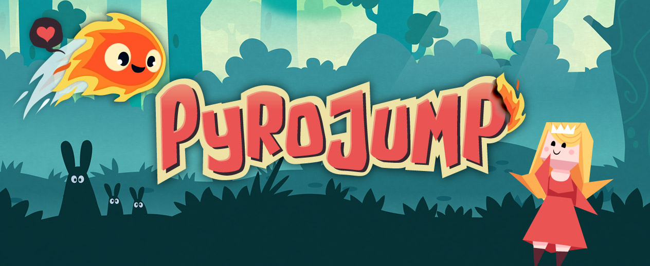 Pyro Jump - Prove your love to the princess! - image