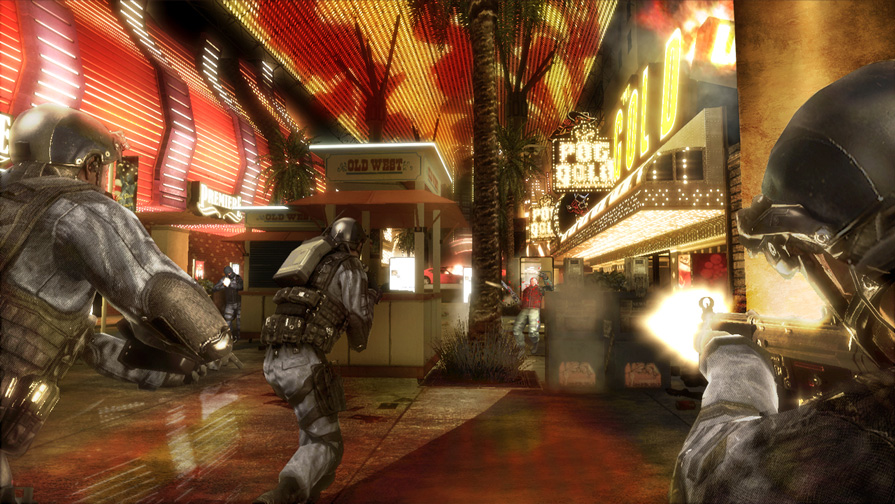 Tom Clancy's Rainbow Six Vegas screen shot