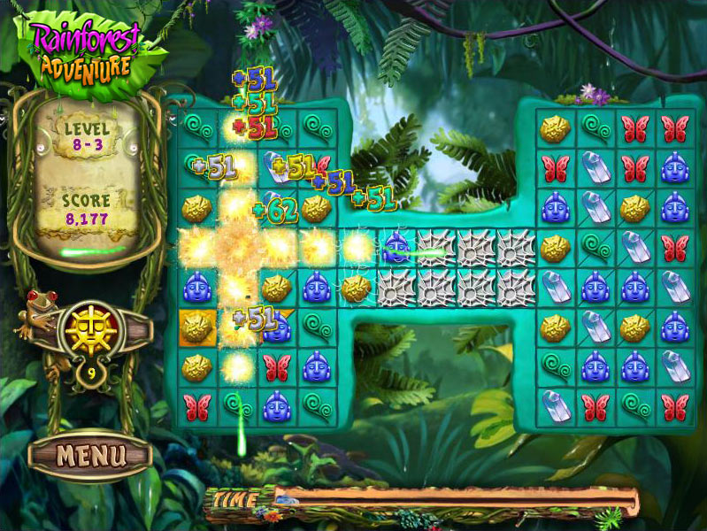 Rainforest Adventure screen shot