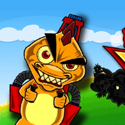 Raptor Rage Online - Raptor Rage is the ultimate act of prehistoric revenge! Take over the farm in this animated, arcade-style online shooting game. - logo
