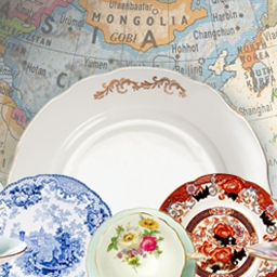 Rare Treasures: Dinnerware Trading Co. - Design lovely china patterns in Rare Treasures: Dinnerware Trading Co.! - logo