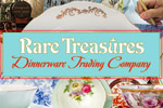 Design lovely china patterns in Rare Treasures: Dinnerware Trading Co.!