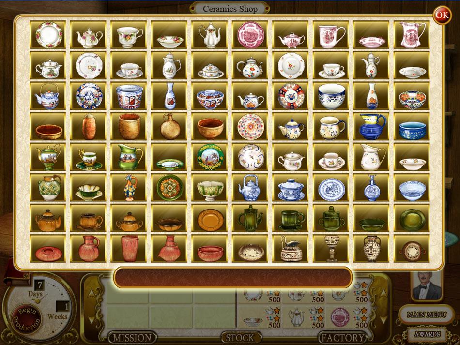 Rare Treasures: Dinnerware Trading Co. screen shot