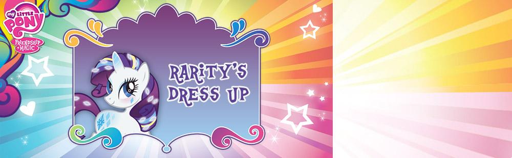 Rarity's Dress Up