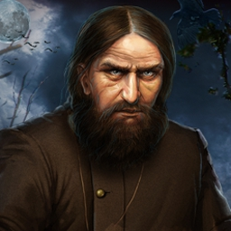 Rasputin's Curse - Rasputin's Curse is a mind-bending hidden object adventure! - logo