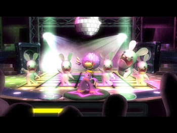 Rayman Raving Rabbids screen shot