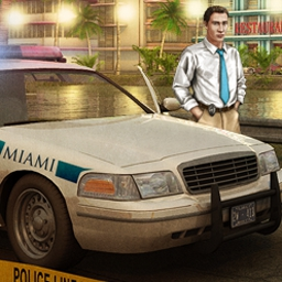 Real Detectives - Murder in Miami - Solve a series of unexplained deaths in Real Detectives - Murder in Miami! - logo