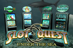 Brave the vast ocean and its many challenges in Reel Deal Slot Quest: Under The Sea!  Defeat the General's Super Carrier to win the game.