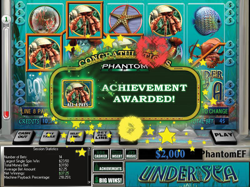 Reel Deal Slot Quest: Under The Sea screen shot