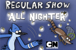 Help the troublesome Mordecai and Rigby who have lost Pop's prize fireflies! Take aim and catch all the bugs before dawn in Regular Show: All Nighter.