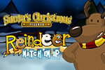 Great for kids!  Help Santa find his reindeer by matching them together in the memory game Reindeer Match'Em Up™ HD.
