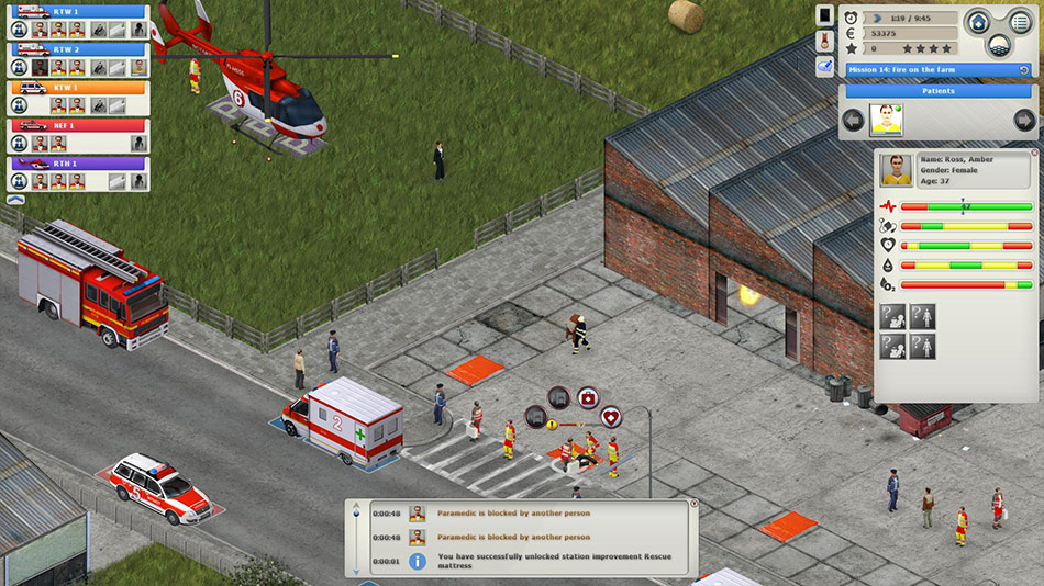 Rescue Simulator 2014 screen shot