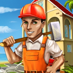 Rescue Team - Rebuild three islands in the wake of devastating weather! Rescue Team is fun, addictive and unlike any other game you've played. - logo