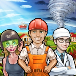 Rescue Team 2 - When disaster strikes, the Rescue Team sweeps in to save the day! Take control of workers who respond to emergencies. - logo