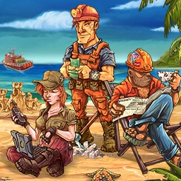 Rescue Team 3 - You and your team must clean up after a disastrous tornado!  Manage your resources and repair the local infrastructure in Rescue Team 3! - logo
