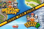 Rebuild three islands in the wake of devastating weather! The Rescue Team Bundle is fun, addictive and unlike any other game you've played!