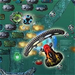 Ricochet Lost Worlds - Break bricks in a lost underwater world in Ricochet Lost Worlds! - logo