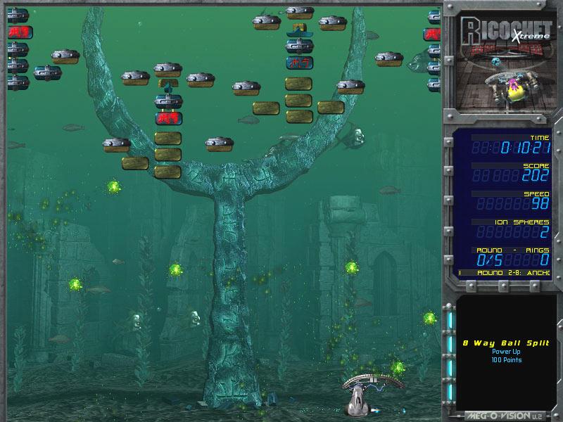 Ricochet Lost Worlds screen shot