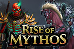 Enter a world filled with adventure and mythical monsters!  Rise of Mythos combines strategy and trading cards into an addicting MMO.