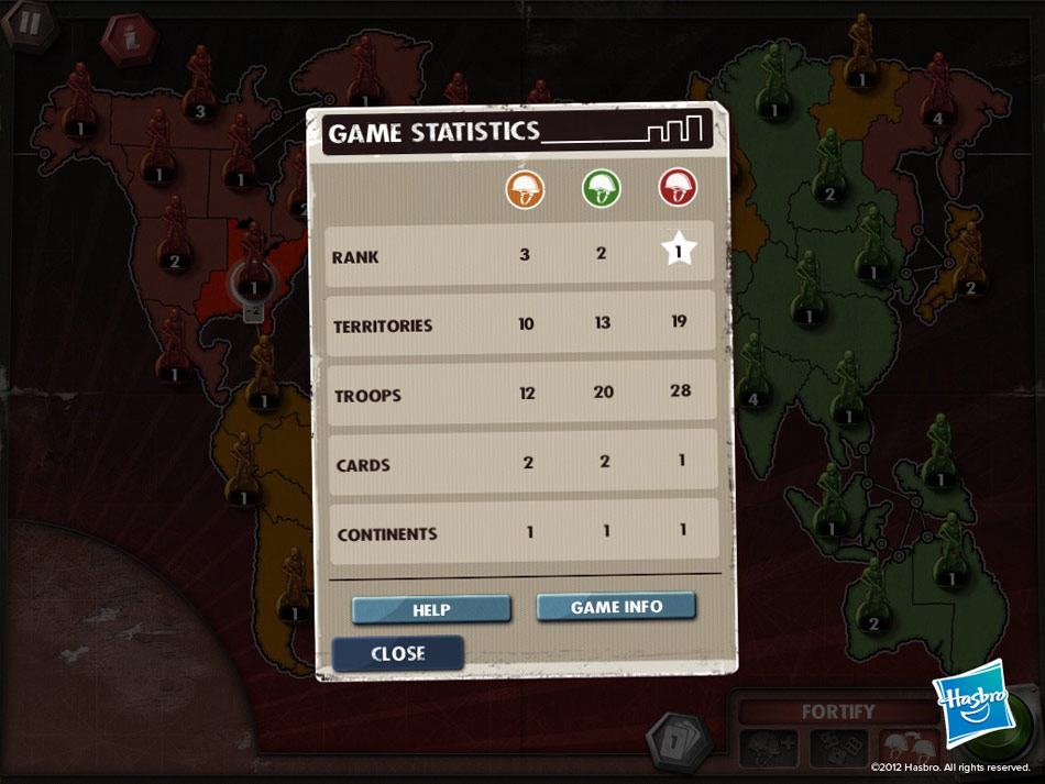 RISK screen shot