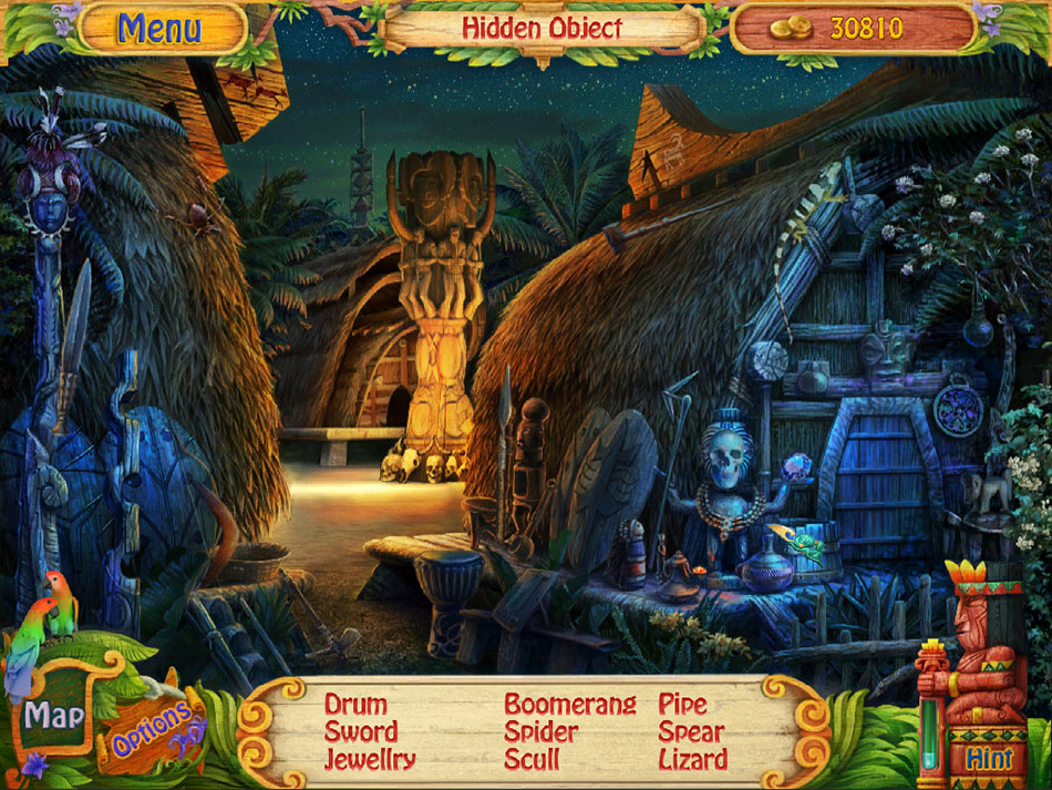 Robin's Island Adventure screen shot