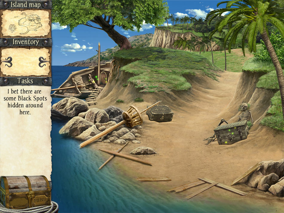 Robinson Crusoe and the Cursed Pirates screen shot