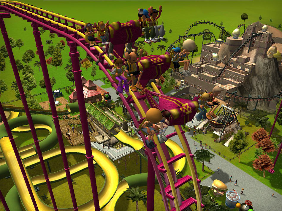 RollerCoaster Tycoon 3: Platinum screen shot