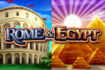Cleopatra and Julius Caesar have returned to your PC! Play the Rome and Egypt slots casino game today!