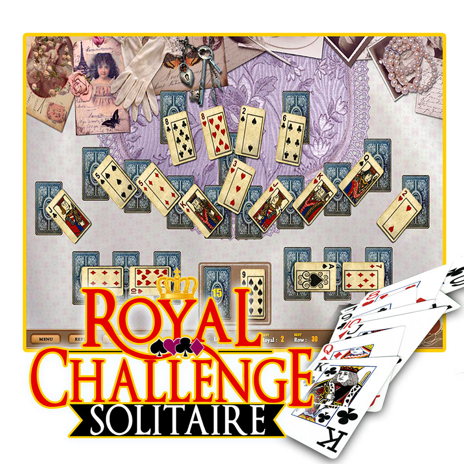 Royal Challenge Solitaire screen shot