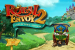 Team up with Cedric for another exciting adventure in this special Collector's Edition of Royal Envoy 2!