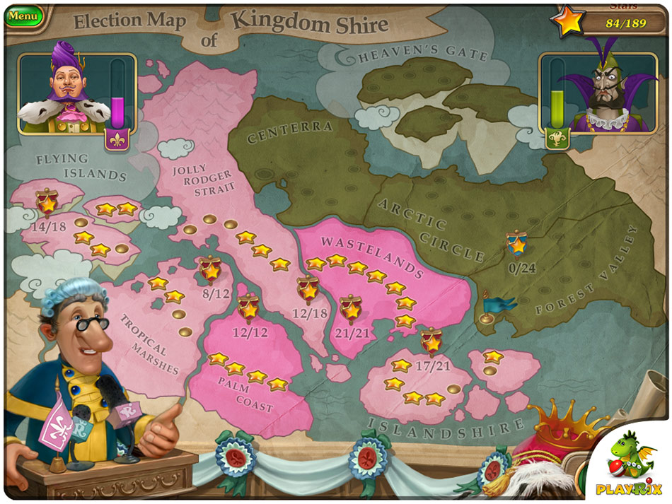 Royal Envoy: Campaign for the Crown - Collector's Edition screen shot