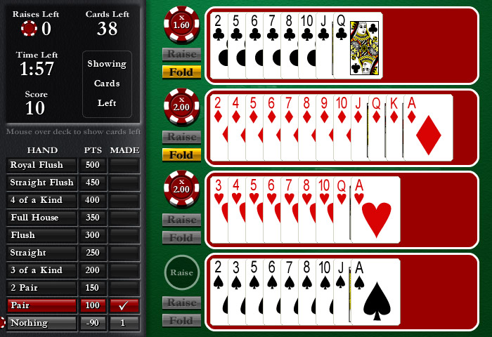Cash Tournaments - Royal Flush screen shot