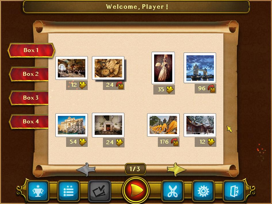Royal Jigsaw screen shot
