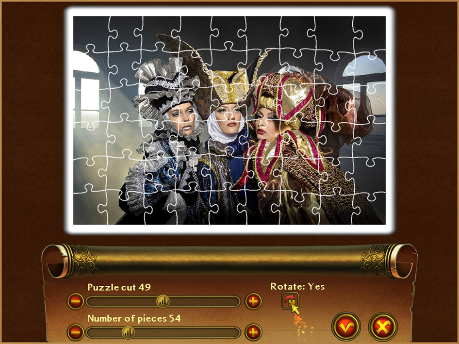 Royal Jigsaw screen shot