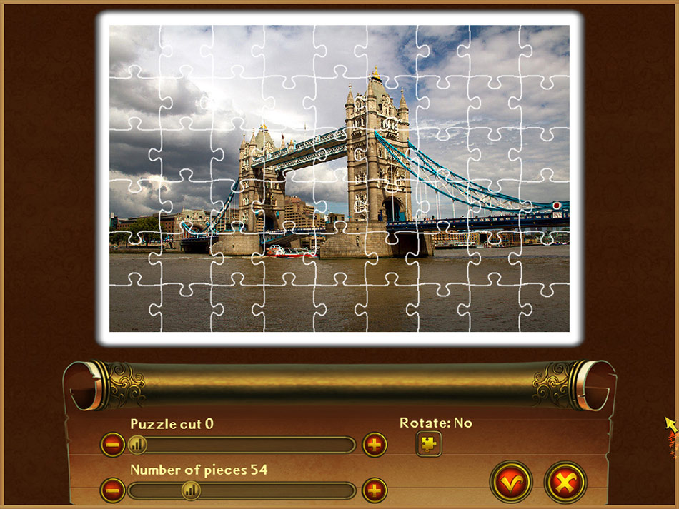 Royal Jigsaw 2 screen shot