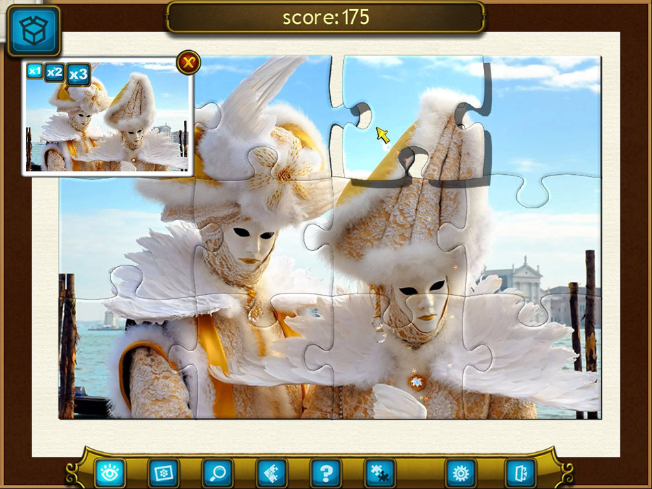 Royal Jigsaw 3 screen shot