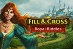 Over 100 Japanese crossword (or paint-by-number) puzzles await you in Royal Riddles!  Get ready to work out your mind!