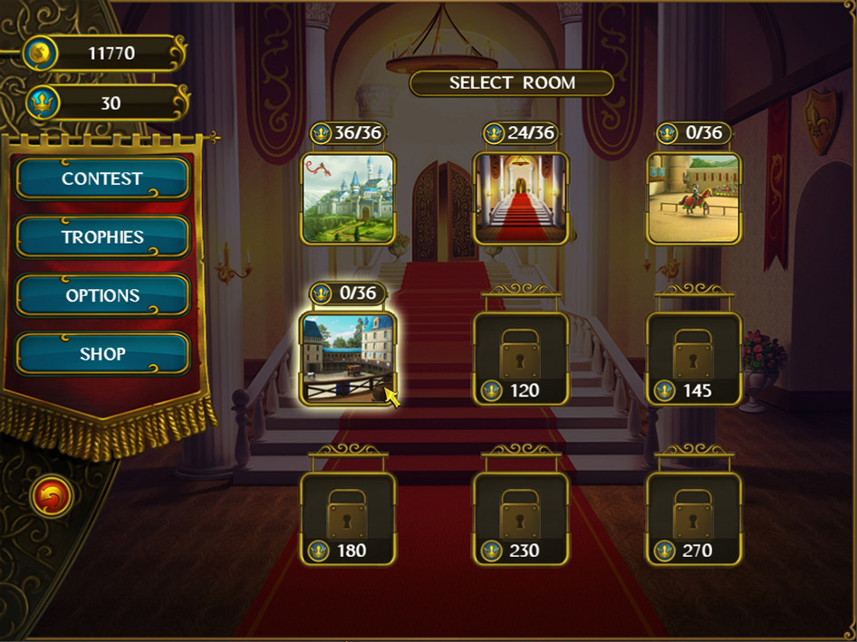 Royal Riddles screen shot