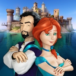 Royal Trouble - Help two heirs escape the dungeon and solve a mystery in Royal Trouble! - logo