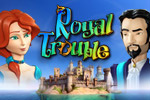 Help two heirs escape the dungeon and solve a mystery in Royal Trouble!