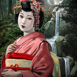 Runaway Geisha Gold Edition - To find your mother, you must enter the mysterious world of the Geisha in Runaway Geisha Gold Edition, a hidden object game. - logo